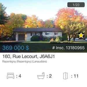 Maison unifamiliale à vendre