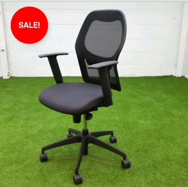 VERCO MESH LUMBAR SUPPORT CHAIR CHEAP USED OFFICE FURNITURE SALE ON