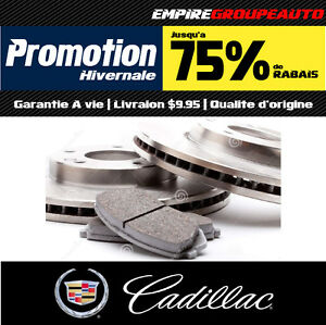 Freins et Disques • Pads and Rotors • Cadillac (All Models)OEM-S