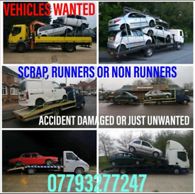 SCRAP CAR'S BOUGHT FOR CASH MIN £170 PAID