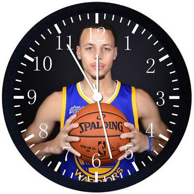 Настенные часы Stephen Curry Black Frame