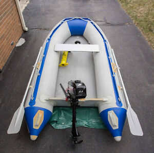 Seabright 8ft Dinghy with Mercury 2.5HP