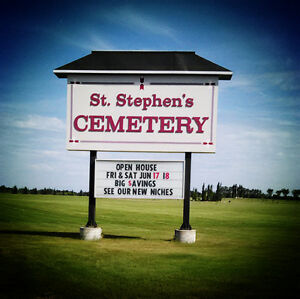 Cemetery Burial Plots, Niches, Cremation Spaces
