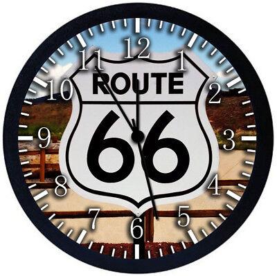 Настенные часы Route 66 Black Frame