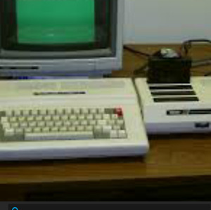 tandy color computer 3 with multi pak and disk drive