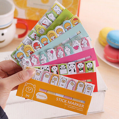 Cute Animals Sticker Post-It Bookmark Marker Memo Flags Index Tab Sticky Notes on Rummage