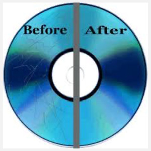 Repair Scratched Discs ~ While You Wait