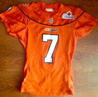 BC Lions Game Used Jersey - O'Mahony