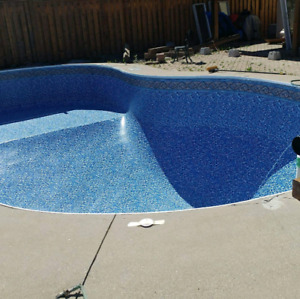 POOL LINER REPLACEMENT IN LESS THAN A WEEK