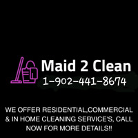 Call Maid2Clean Now!!