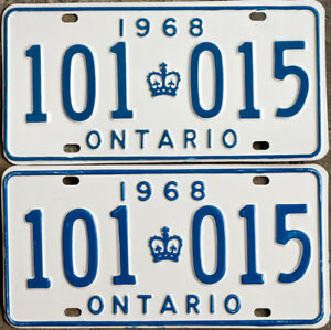YOM License Plates For Your Old Auto - Ministry Guaranteed!