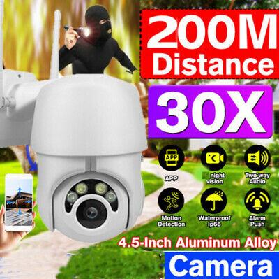 1080P HD PTZ Outdoor IR IP Camera Waterproof WIFI Pan Tilt Security Night Vision