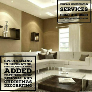 Staging Decorating and Cleaning