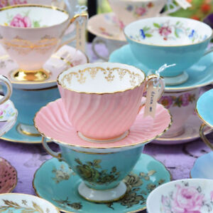 Tea party dish rentals - baby shower and bridal shower