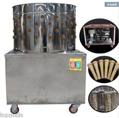 Turkey Chicken Plucker Plucking Machine Poultry De-feather Si5500
