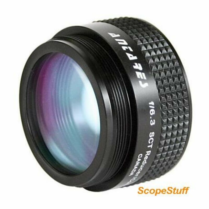 "Antares #SCTFR f6.3 Focal Reducer with 2"" Schmidt Threads for SCT"