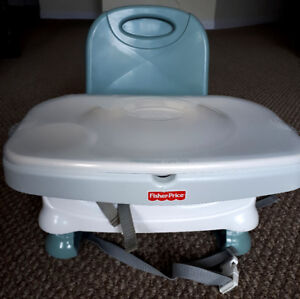 High chair/ booster seats - Fisher Price