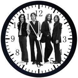 The Beatles Black Frame Wall Clock E41