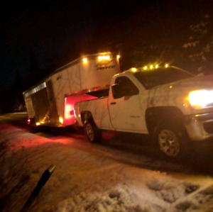 Trailering services primary,but not limited to horses