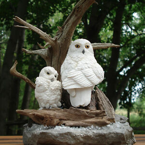 Hand Crafted Snowy Owls