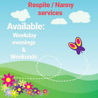 Offering: respite / nanny services kelowna
