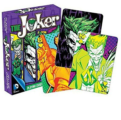 The Joker (Batman) New School set of 52 playing cards (+ jokers) (nm 52269)