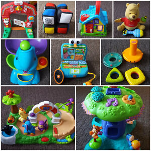 10 PIECE TOY LOT FOR 6 MONTHS AND UP