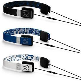 Bang & Olufsen NEW FORM 2i - Sleek and ultra-light Blue headphones