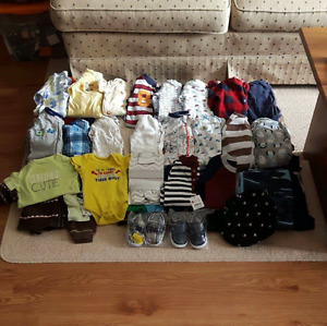 0-3 Month Clothing *99 Items*