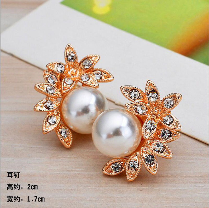 Gold Flower Pearl