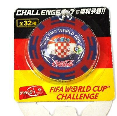 Coca-Cola Coke Schlüsselanhänger aus Japan WM 2006 - Kroatien