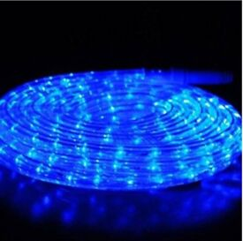 Rope light blue 5 meters brand new(I have 2 £14 each)