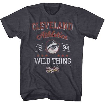 Wild Thing Major League (Major League ll Cleveland Athletics 1994 Wild Thing Adult T Shirt Great Movie)