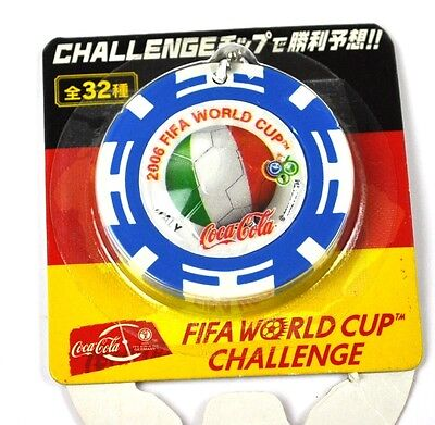 Coca-Cola Coke Schlüsselanhänger aus Japan WM 2006 - Italien