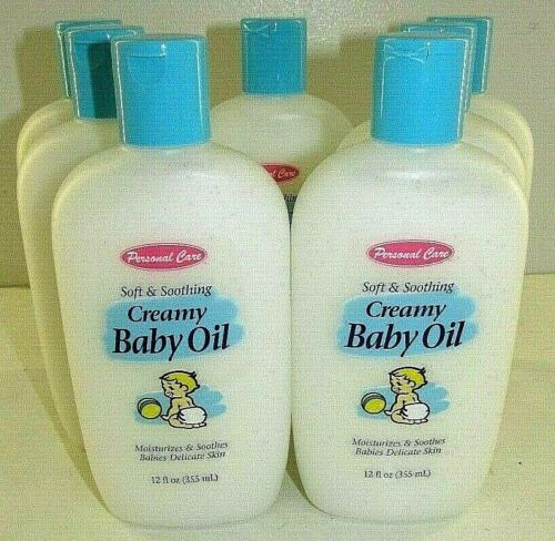 Creamy Baby Oil Soft & Soothing   7 - 12 FL.OZ. Bottles