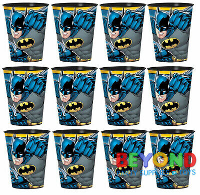 Batman High Quality Reusable Birthday Party Plastic Cups