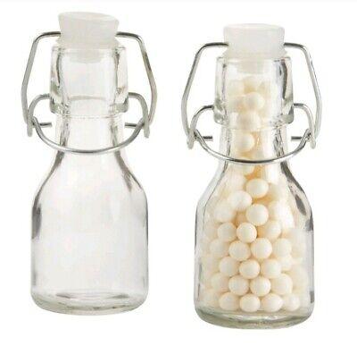 Kate Aspen Swing-Top Mini Glass Favor Bottle Set of 11