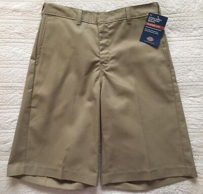 Dickie Classic Shorts (New Young Mens Dickies Classic Fit Shorts Khaki Size 30