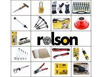 70+ DIY RolsonAssorted Tool Items Amazon RRP £500+ Joblot Sale 50% Off