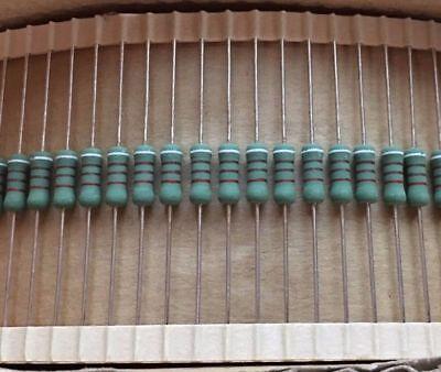 2500 Pcs Metal Oxide Resistor 910 Ohm 2w 2 Original Oem Parts