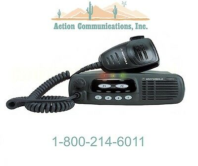 New Motorola Cdm750 Vhf 136-174 Mhz 25 Watt 4 Channel Two Way Radio