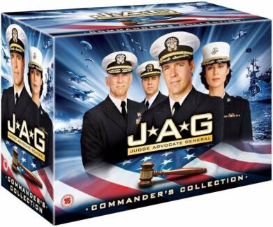 JAG Complete Series Seasons 1-10 DVD box set