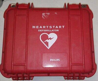 Laerdal Philips Fr2 Hearstart Defib Aedhard Case