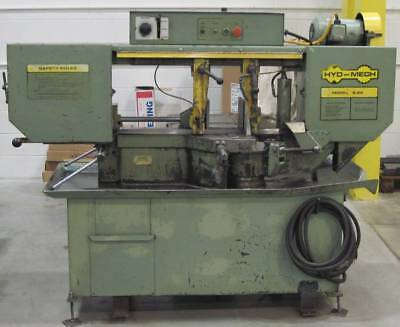 Hyd-mech Horizontal Band Saw Model No. S-20