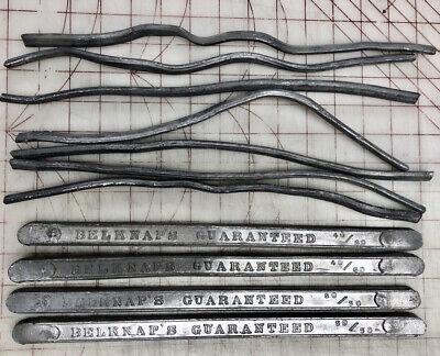 7 Bulk Weight Lot Barssticks 5050 4060 Warranted Tin-lead Solder Belknap