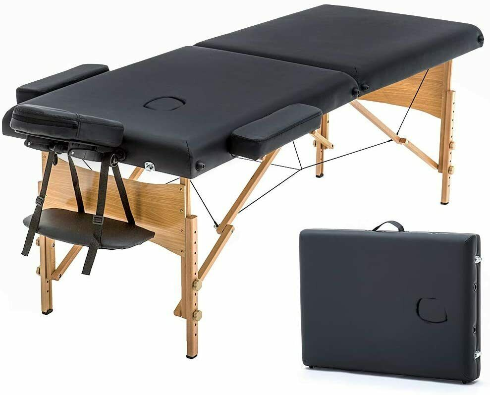 Massage Table Portable Massage Bed Spa Bed 73 Inches Long 28 Inchs Wide Health & Beauty