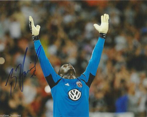 DC United Bill Hamid Autographed Signed MLS 8x10 COA E