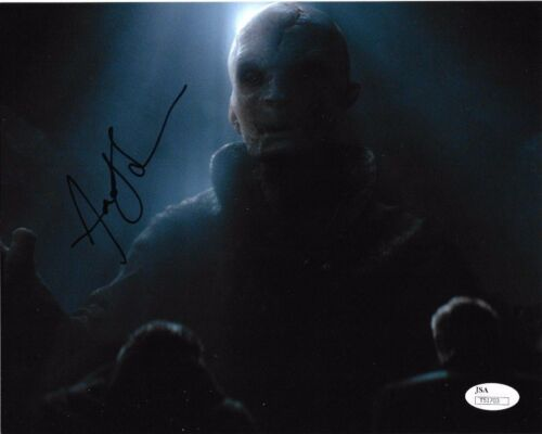 Andy Serkis Star Wars Autographed Signed 8x10 Photo JSA COA #S11