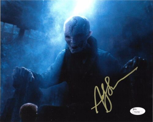 Andy Serkis Star Wars Autographed Signed 8x10 Photo JSA COA #S2