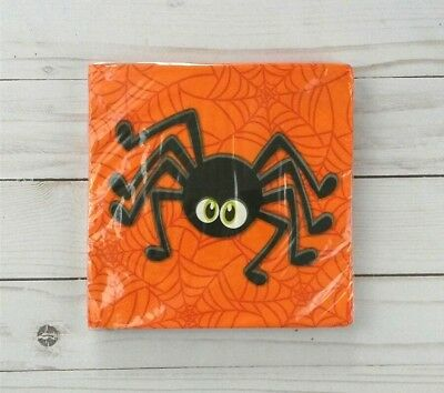18+ Halloween Parties Ct (Paper Lunch Napkins 18 ct 2 Ply Party Halloween)